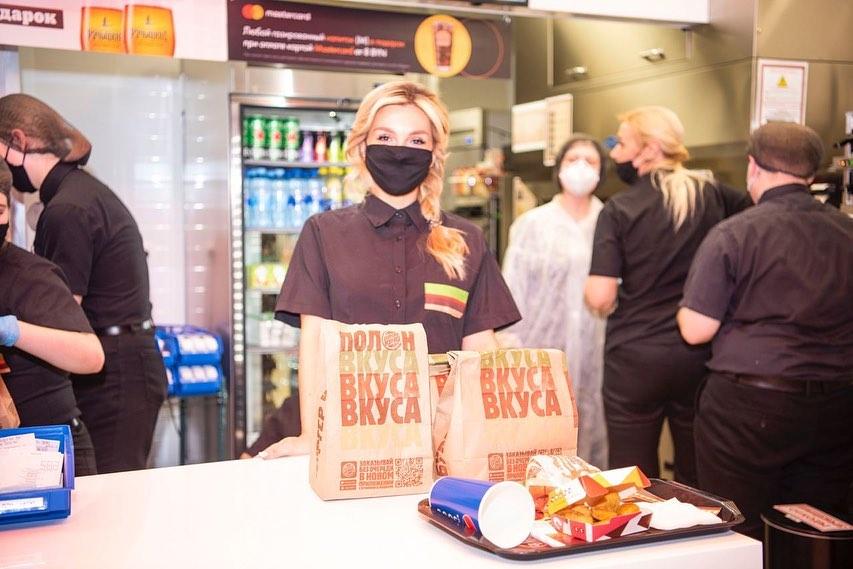 """В ТРЦ Стрелецкий «Манеж» состоялось открытие """"Burger King"""""""